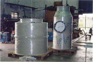 spray wash tank